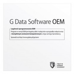 G Data Internet Security OEM 1PC/1 ROK