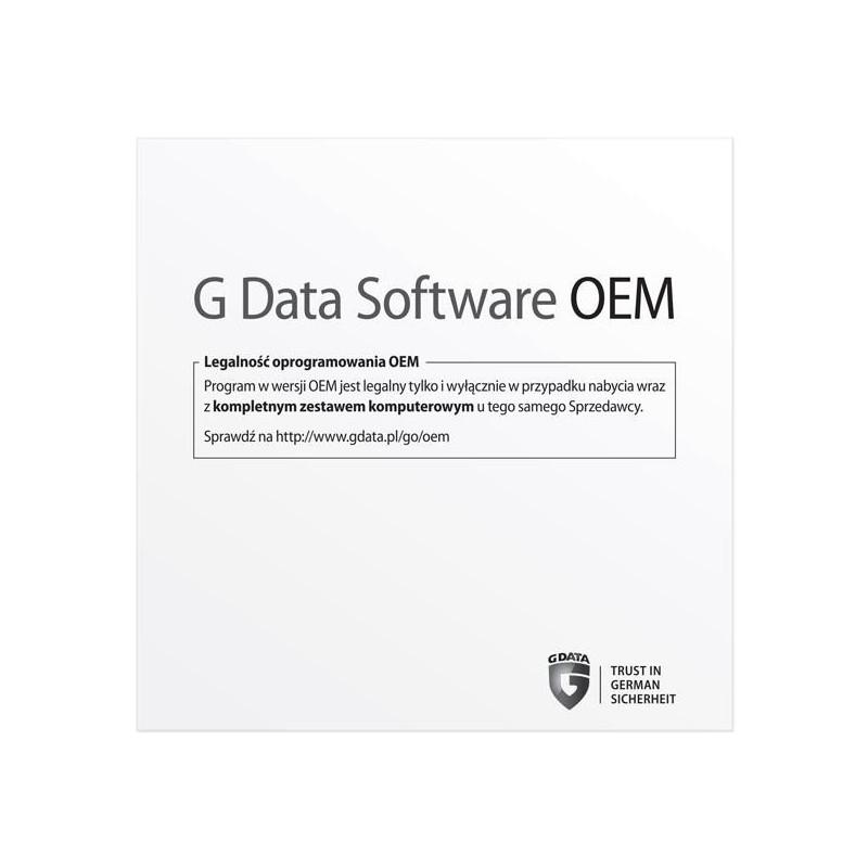 G Data Internet Security OEM 1PC/1 ROK