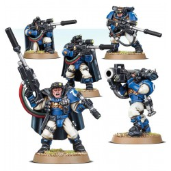 Warhammer 40,000 Space Marines Scouts with Sniper Rifles