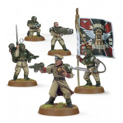 Warhammer 40,000 Cadian Command Squad