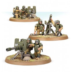Warhammer 40,000 Astra Militarum Cadian Heavy Weapon Squad