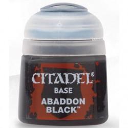 CITADEL FARBA: ABADDON BLACK (12ml)