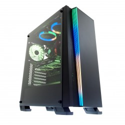 KOMPUTER PC WIZARD 4 GAMING i5 16GB 120GB SSD 500GB HDD RX-570 8GB W10