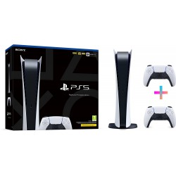 KONSOLA SONY PLAYSTATION 5 DIGITAL PS5 8K SSD 825GB 2 PADY