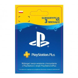 SONY SUBSKRYPCJA PLAYSTATION PLUS 3 M-CE PS4 PS5 (kod)