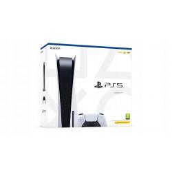 KONSOLA SONY PLAYSTATION 5 PS5 BLUE-RAY 8K SSD 825GB PAD 3-GRY