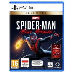 PlayStation Marvel's Spider-Man Miles Morales Ultimate Edycja PS5 PL