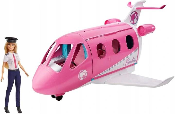 Barbie Samolot + Lalka pilotka GJB33aa.jpg