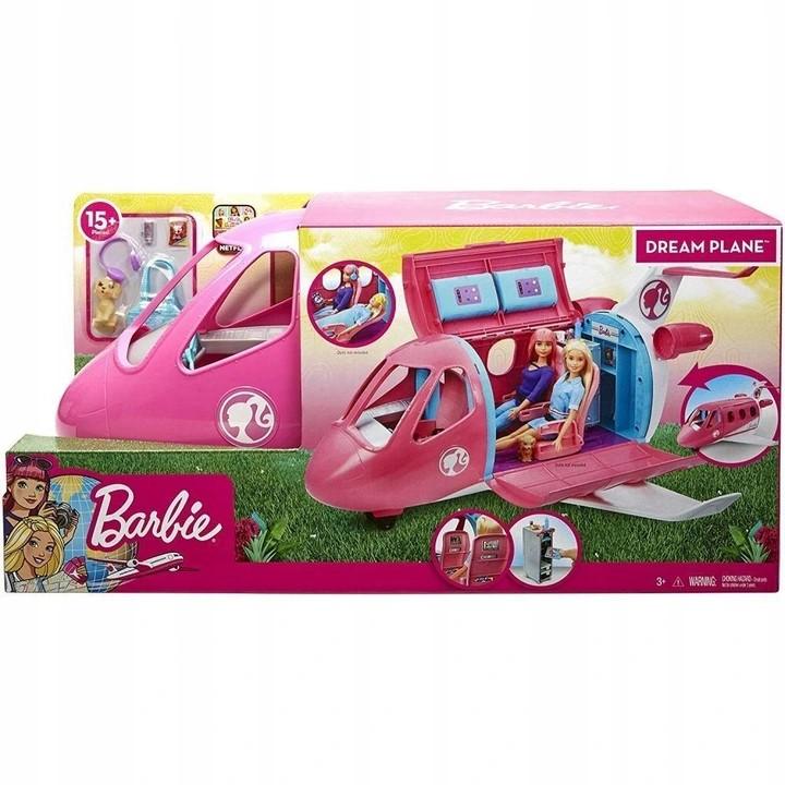 Barbie Samolot + Lalka pilotka GJB33cc.jpg